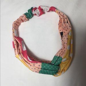 Mango Turban Polka Dot Headband